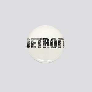 Detroit Skyline Mini Button