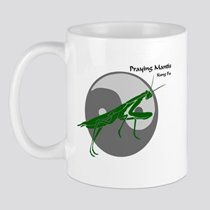 Praying Mantis Kung Fu Logo Mug