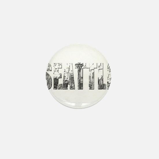 SEATTLEWHITE Mini Button