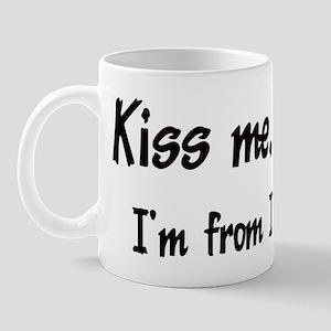 Kiss Me: Iowa Mug