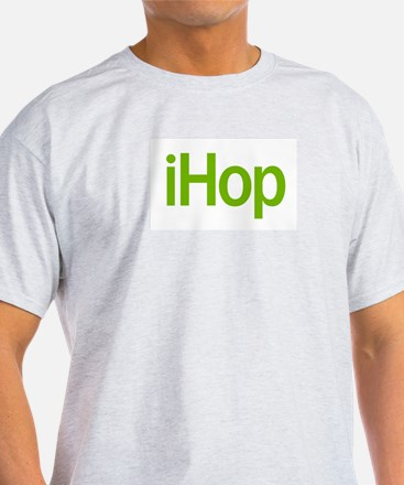 Easter iHop Ash Grey T-Shirt