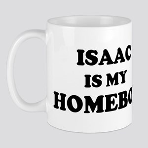 Isaac Is My Homeboy Mug