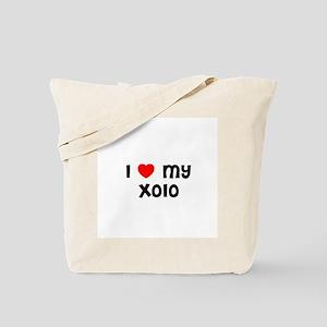I * my Xolo Tote Bag