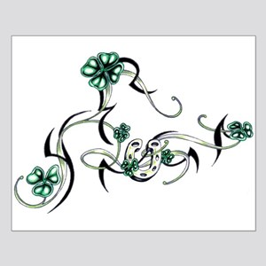 Tribal Irish Design Small Poster