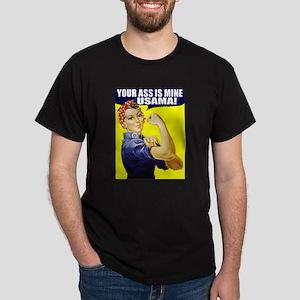 Rosie WantsUsama Black T-Shirt
