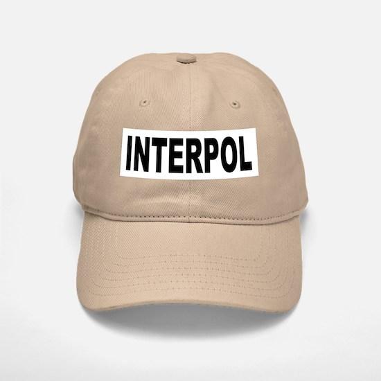 INTERPOL Police Baseball Baseball Cap