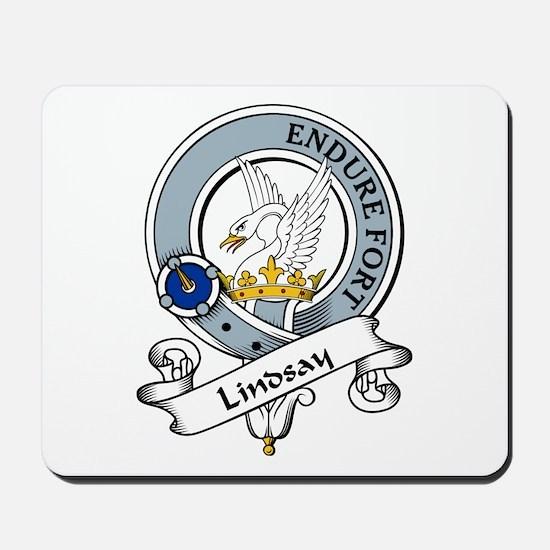 Lindsay Clan Badge Mousepad