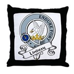 Lindsay Clan Badge Throw Pillow