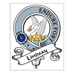 Lindsay Clan Badge Small Poster