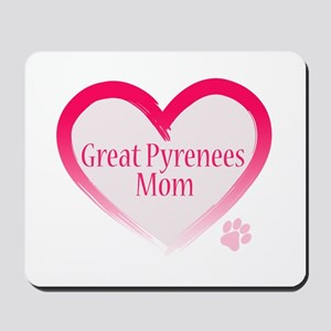 Pug Mom Mousepad