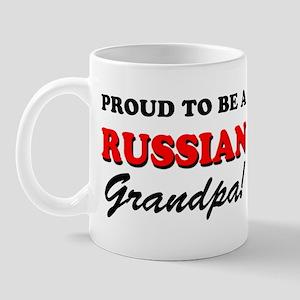 Proud To Be A Russian Grandpa Mug