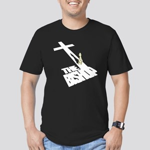 """IT'S DA BISHOP!!"" Men's Fitted T-Shirt (dark)"