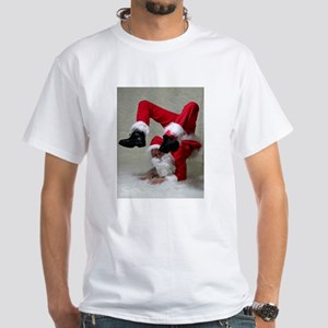 Xmas Contortionist T-Shirt (White)