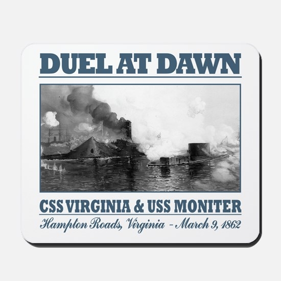 Duel At Dawn Mousepad