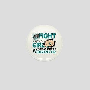 Licensed Fight Like A Girl 20.2 Ovaria Mini Button