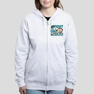 Licensed Fight Like A Girl 20.2 Women's Zip Hoodie