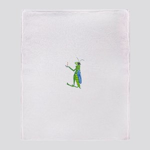Grasshopper Throw Blanket
