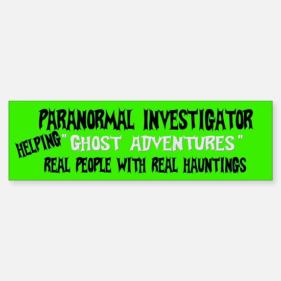 Ghost Adventures Sticker (Bumper)