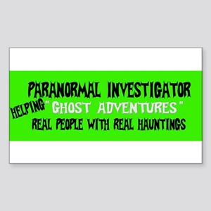 Ghost Adventures Sticker (Rectangle)