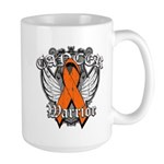 Leukemia Cancer Warrior Large Mug