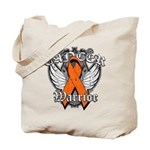 Leukemia Cancer Warrior Tote Bag