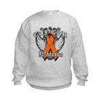 Leukemia Cancer Warrior Kids Sweatshirt