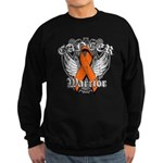Leukemia Cancer Warrior Sweatshirt (dark)