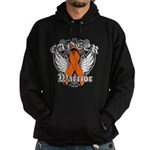 Leukemia Cancer Warrior Hoodie (dark)