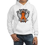 Leukemia Cancer Warrior Hooded Sweatshirt