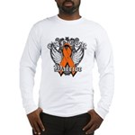 Leukemia Cancer Warrior Long Sleeve T-Shirt