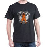 Leukemia Cancer Warrior Dark T-Shirt