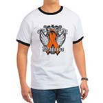 Leukemia Cancer Warrior Ringer T