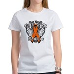 Leukemia Cancer Warrior Women's T-Shirt