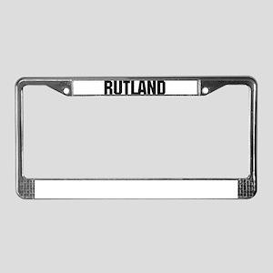 Rutland, Vermont License Plate Frame