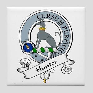 Hunter Clan Badge Tile Coaster