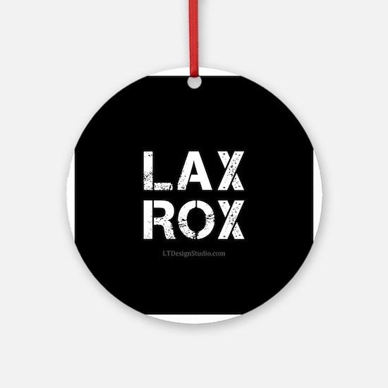 LAX ROX Ornament (Round)