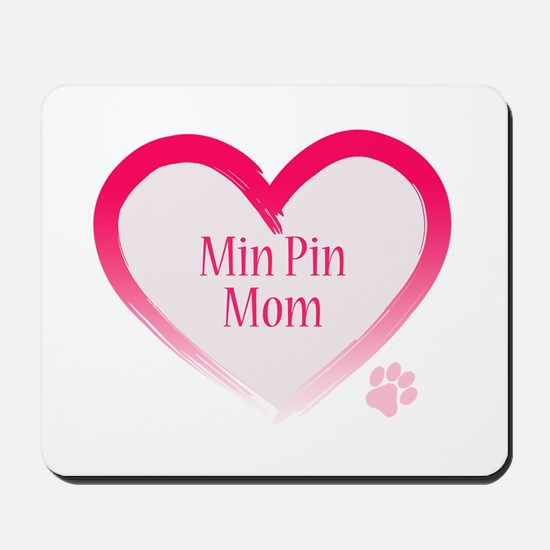 Pug Mom Mousepad