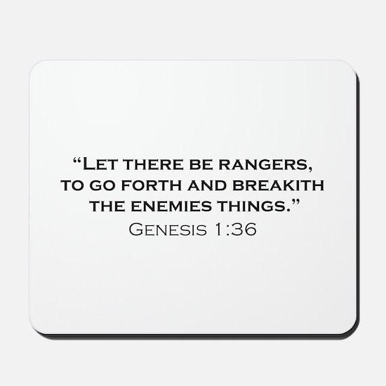 Ranger / Genesis Mousepad