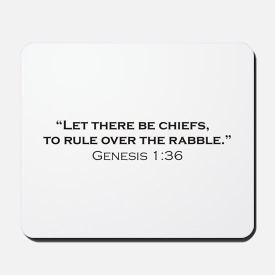 Chiefs / Genesis Mousepad