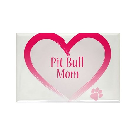 Pug Mom Rectangle Magnet