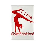 Gymnastics Magnets (100) - Love