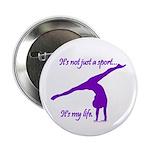 Gymnastics Buttons (100) - Life