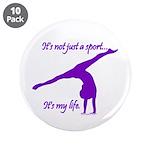 Gymnastics Buttons (10) - Life