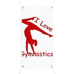 Gymnastics Banner - Love