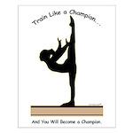 Gymnastics Poster - Champion