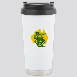 Ripper Bloke Stainless Steel Travel Mug