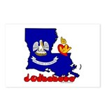 ILY Louisiana Postcards (Package of 8)
