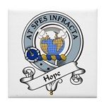 Hope Clan Badge Tile Coaster