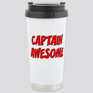 Captain Awesome Stainless Steel Travel Mug