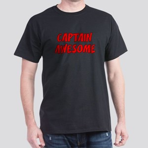 Captain Awesome Dark T-Shirt
